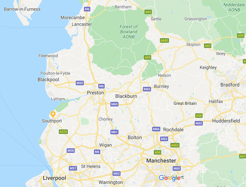 sash window repairs in lancshire map